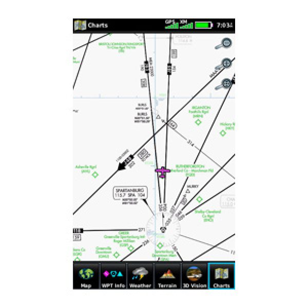 Garmin Aera 795 Moving Map Touchscreen Aviation Gps