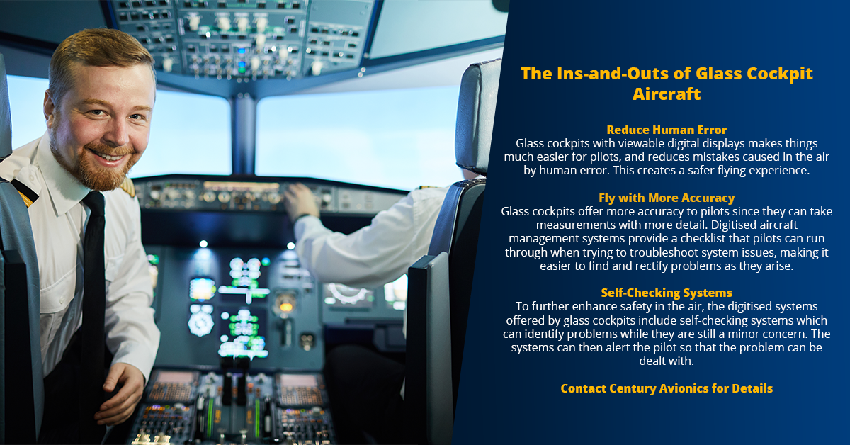 The Ins-and-Outs of Glass Cockpit Aircraft
